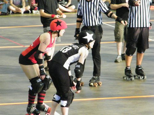 Kait - I mean, TruckNutz - as jammer!